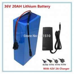 18342.3 руб. |36 V 1000 W литий ионная аккумуляторная батарея 36 V 20AH с ПВХ чехлом для электрического велосипеда с 42 V 2A зарядным устройством Бесплатная таможенная плата-in Комплекты батарей from Бытовая электроника on Aliexpress.com | Alibaba Group
