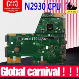 1853.96 руб. 6% СКИДКА|4 ядра N2930 1,833 ГГц процессор X551MA материнская плата для ASUS F551MA X551MA D550M Материнская плата ноутбука X551MA материнская плата X551MA материнская плата-in Материнские платы from Компьютер и офис on Aliexpress.com | Alibaba Group
