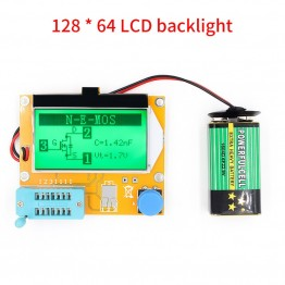 US $3.55 5% OFF|Mega328 M328 LCR T4 12846 LCD Digital Transistor Tester Meter Backlight Diode Triode Capacitance ESR Meter MOS/PNP/NPN L/C/R-in Multimeters from Tools on Aliexpress.com | Alibaba Group