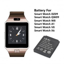 312.28 руб. 39% СКИДКА|Smartwatch Backup Battery 380mAh 3.7V For DZ09 Smart Watch Rechargeable Li ion polymer battery batteria-in Цифровые аккумуляторы from Бытовая электроника on Aliexpress.com | Alibaba Group