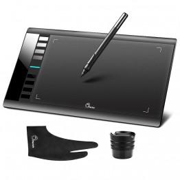 3201.36 руб. 24% СКИДКА Parblo A610 планшетный компьютер Графика планшет Для Рисования Pad ж/ручка 2048 уровня цифровая ручка + анти перчатка в качестве подарка-in Цифровой планшеты from Компьютер и офис on Aliexpress.com   Alibaba Group