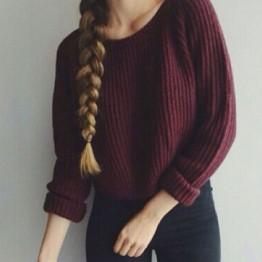 814.08 руб. 35% СКИДКА Осень зима женщины свитера и пуловеры корейский стиль с длинным рукавом повседневная растениеводство свитер тонкий твердые трикотажные перемычки sweter mujer женские свитера-in Пуловеры from Женская одежда on Aliexpress.com   Alibaba Group