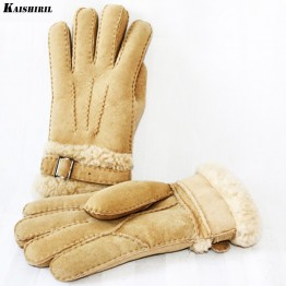 776.47 руб. 5% СКИДКА|Мужские зимние мужские перчатки кожаные шерстяные перчатки тепловые теплые варежки мягкие кашемировые зимние перчатки из натуральной овечьей шерсти натуральная кожа-in Мужские перчатки from Одежда аксессуары on Aliexpress.com | Alibaba Group