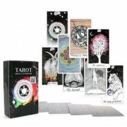 Асиент Таро колода 78 карт-красивый мастер-класс дизайн-электронная книга для руководства Таро карты игры для женщин