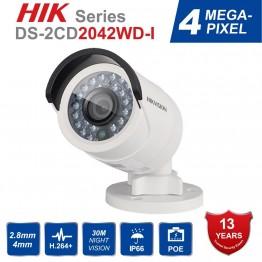 5887.25 руб.  Оригинальный Hikvision DS 2CD2042WD I Full HD 4MP английская версия пуля сетевая камера видеонаблюдения высокое разрешение 120 дБ WDR POE IR IP-in Камеры видеонаблюдения from Безопасность и защита on Aliexpress.com   Alibaba Group
