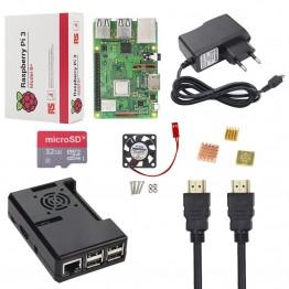 3057.05 руб. |Новый Raspberry Pi 3 Model B + комплект 16 32 Гб sd карта + чехол + вентилятор + 2.5A адаптер питания + HDMI кабель + теплоотвод RPI 3 B плюс B +-in Доски для показов from Компьютер и офис on Aliexpress.com | Alibaba Group