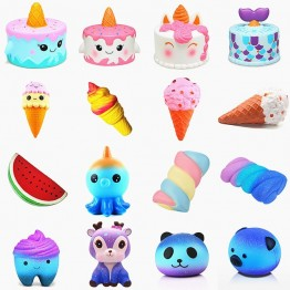 US $0.82 8% OFF|Anti stress Cute Squishy Slow Rising Galaxy Deer Poo bread Hamburger Coffee Strawberry Ice PU Squishy Toys Squeeze Squishes Toy-in Squeeze Toys from Toys & Hobbies on Aliexpress.com | Alibaba Group