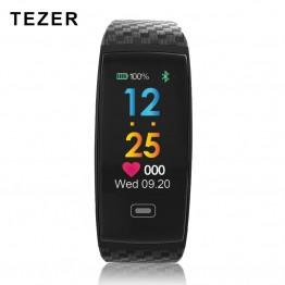 1373.48 руб. 58% СКИДКА|Tezer R17 умный Браслет Водонепроницаемый ЭКГ в реальном времени Minitor динамический сердечного ритма спортивные Фитнес браслет Поддержка USB заряда часы купить на AliExpress