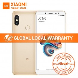 € 148.43 |Versión Global Xiaomi Redmi Note 5 Snapdragon 636 Octa Core 3 GB 32 GB 5,99