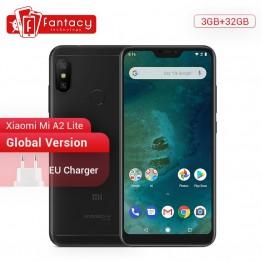 8545.94 руб. |Глобальная версия Xiaomi Mi A2 Lite 3 ГБ 32 ГБ Смартфон Android One Snapdragon 625 Восьмиядерный 5,84