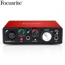 7046.38 руб. 38% СКИДКА|Новая версия Focusrite Scarlett Solo (2nd gen) 2 входа 2 Выход USB аудио интерфейс звуковая карта для записи микрофона гитары-in Звуковые карты from Компьютер и офис on Aliexpress.com | Alibaba Group
