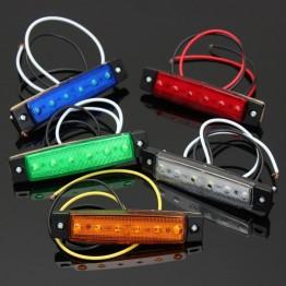 61.15 руб. 22% СКИДКА|6 светодиодный габаритный фонарь для грузовика и прицепа 12 в белый, янтарный, желтый цвет красный фиолетовый-in Аксессуары для автомобильного освещения from Автомобили и мотоциклы on Aliexpress.com | Alibaba Group