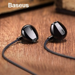 € 7.24 20% de DESCUENTO Baseus 6D estéreo en la oreja Auriculares auriculares con Control de cable auriculares de sonido bajo para iPhone Xiaomi Huawei 3,5mm tipo c auriculares-in Auriculares y cascos from Productos electrónicos on Aliexpress.com   Alibaba Group