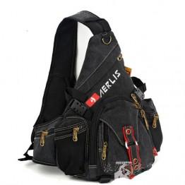2070.25 руб. 25% СКИДКА|2019 Бесплатная доставка Мужская нагрудная сумка из парусины крутой тренд сумки мессенджеры повседневные сумки для мужчин Военная новая сумка-in Сумки-кроссбоди from Багаж и сумки on Aliexpress.com | Alibaba Group