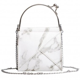 Творческий Chic Мрамор камень шаблон пляжные сумки мини цепи новые сумки для Для женщин Курьерские сумки Мода 2018 высокое качество купить на AliExpress