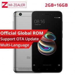 5697.29 руб. |Оригинальный CN версия Xiaomi Redmi 5A 2 ГБ Оперативная память 16 ГБ Встроенная память мобильного телефона Snapdragon 425 4 ядра 5,0