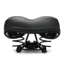 Велосипедное седло для велоспорта, Большое широкое седло для горного велосипеда, Широкая мягкая подушка для велосипеда