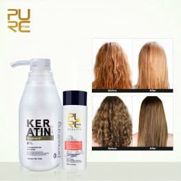 US $16.45 50% OFF|PURC 8% formalin keratin Brazil Keratin Treatment 100ml purifying shampoo hair care make hair straightening smoothing shinning-in Hair & Scalp Treatments from Beauty & Health on Aliexpress.com | Alibaba Group