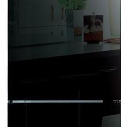 Холодильник DAEWOO RNV3310GCHB,  черное стекло