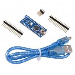 261.01 руб.  Для Arduino Nano V3.0, наноплата CH340/ATmega328P с USB кабель, совместимый с Arduino Nano V3.0 (Nano x 1 + кабель)-in Интегральные схемы from Электронные компоненты и принадлежности on Aliexpress.com   Alibaba Group