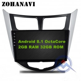 US $191.52 16% OFF|9 inch 2G+32G OctaCore  8 Core Android 8.1 Car dvd for Hyundai Solaris Verna radio video player gps navigation BT wifi MAP-in Car Multimedia Player from Automobiles & Motorcycles on Aliexpress.com | Alibaba Group
