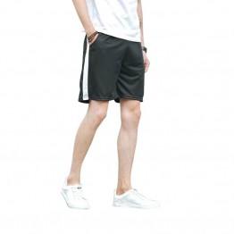 423.39 руб. |Простой черный, белый цвет в полоску по колено спортивных Стиль Для мужчин шорты летние свободные шорты с эластичным поясом Для мужчин модные Для мужчин s шорты-in Шорты from Мужская одежда on Aliexpress.com | Alibaba Group