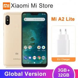 8743.17 руб.  Глобальная версия Xiaomi Mi A2 Lite 3 GB 32 GB мобильный телефон 4000 mAh аккумулятор Snapdragon 625 Octa Core 5,84