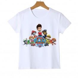 473.67 руб. |Брендовая детская футболка с коротким рукавом для мальчиков и девочек, футболка с принтом милой собаки для девочек и мальчиков, весенне летний детский топ с изображением собаки, футболка с рисунком животного, футболка, Z23 5 купить на AliExpress