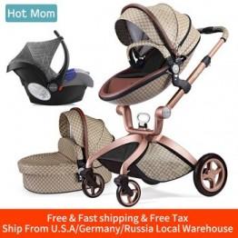Детская коляска 3 в 1, популярная дорожная система для мамы, высокая коляска с люлькой, в 2019 году, складная коляска для новорожденных, F22