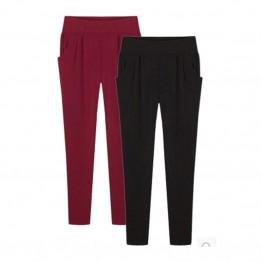 658.07 руб. 40% СКИДКА|2017 для женщин летние брюки ботильоны длина плюс размеры 5XL 6XL Свободные Повседневное дамские шаровары женские брюки для девочек карандаш стрейч-in Штаны и капри from Женская одежда on Aliexpress.com | Alibaba Group