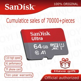 223.07 руб. 66% СКИДКА|SanDisk MicroSD карты памяти 16 Гб, 32 ГБ, 64 ГБ и 128 Гб MicroSD Max 80 м/с Uitra C10 TF карты C4 8G картао де memoria-in Карты памяти from Компьютер и офис on Aliexpress.com | Alibaba Group