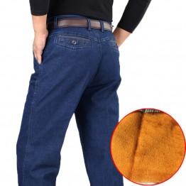 1329.99 руб. 49% СКИДКА|Зимние мужские плотные теплые джинсы классические флисовые мужские джинсовые брюки хлопковые синие Черные качественные длинные брюки мужские брендовые джинсы размер 42-in Джинсы from Мужская одежда on Aliexpress.com | Alibaba Group