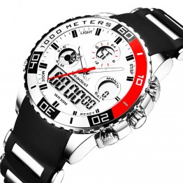 914.82 руб. 90% СКИДКА|Лидирующий бренд роскошные часы мужские резиновые светодиодный цифровые Мужские кварцевые часы мужские Спорт, армия, военный наручные часы erkek kol saati-in Часы с двойным дисплеем from Ручные часы on Aliexpress.com | Alibaba Group
