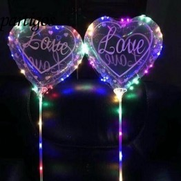 US $28.75 |50pcs/lot 18inch Heart printed love Red Pink Transparent bubble Foil Balloon Valentine's Day Wedding Gifts without LED Lamp wire-in Ballons & Accessories from Home & Garden on Aliexpress.com | Alibaba Group