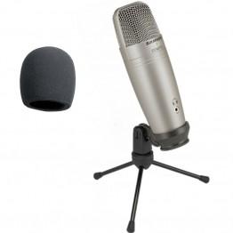 4641.77 руб. 53% СКИДКА|Samson C01U Pro USB Студийный конденсаторный микрофон с контролем в реальном времени с большой диафрагмой конденсаторный микрофон для вещания-in Микрофоны from Бытовая электроника on Aliexpress.com | Alibaba Group