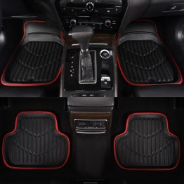 US $17.99 |Car pass Universal Car Floor Mat Red Pu Leather  Front Rear Waterproof Anti dirty  Floor Mats  Car Rugs For 99% Cars-in Floor Mats from Automobiles & Motorcycles on Aliexpress.com | Alibaba Group