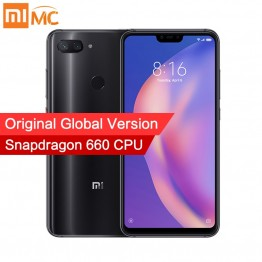 11773.83 руб. |Глобальная версия Xiaomi Mi 8 Lite 4 Гб 64 Гб Смартфон Snapdragon 660 Octa Core 6,26
