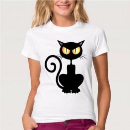 € 5.96 40% de réduction|XS 4XL femmes manches courtes chemise été coquine chat noir 3D t shirt haut pour Femme t shirt décontracté Femme t shirt Femme grande taille-in T-Shirts from Mode Femme et Accessoires on Aliexpress.com | Alibaba Group
