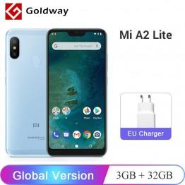 8151.48 руб. |Глобальная версия Xiaomi Mi A2 Lite, 3 Гб оперативной памяти, Оперативная память 32 GB Встроенная память Snapdragon 625 Octa Core 5,84