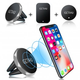 US $1.48 28% OFF|GETIHU Car Phone Holder Magnetic Air Vent Mount Mobile Smartphone Stand Magnet Support Cell in Car GPS For iPhone XS Max Samsung-in Mobile Phone Holders & Stands from Cellphones & Telecommunications on Aliexpress.com | Alibaba Group