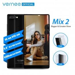 6002.2 руб. 49% СКИДКА Vernee Mix 2 мобильный телефон 4G ram 64G rom MTK6757 Восьмиядерный 6,0 дюймов 18:9 дисплей 13.0MP Android 7,0 смартфон двойная задняя камера-in Мобильные телефоны from Мобильные телефоны и телекоммуникации on Aliexpress.com   Alibaba Group
