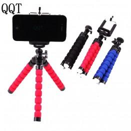 QQT Flexible Pieuvre Éponge Trépied pour iPhone Samsung Xiaomi Téléphone Portable Huawei Smartphone Trépied pour Gopro DSLR Caméra Montage dans Sport Caméscope Accessoires de Electronique sur AliExpress.com | Alibaba Group
