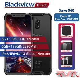 32706.25 руб. |Blackview BV9600 Pro IP68 Водонепроницаемый мобильный телефон 6G + 128 GB Helio P60 6,21