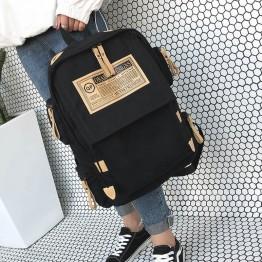 1092.65 руб. 50% СКИДКА Модный фирменный рюкзак, женская сумка на плечо, школьные сумки для подростков, девочек и мальчиков, повседневный однотонный рюкзак, школьный рюкзак Mochila-in Рюкзаки from Багаж и сумки on Aliexpress.com   Alibaba Group