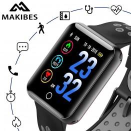 2452.37 руб. |Makibes CK01 умные часы Для Мужчин's Цвет Экран закаленное стекло Фитнес трекер Q18 артериального давления IP68 Часы сердечного ритма Smartwatch-in Смарт-часы from Бытовая электроника on Aliexpress.com | Alibaba Group