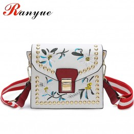US $13.29 45% OFF|Fashion Women Leather Messenger Bag Flower Handbag Ladies Small Crossbody Bags Women Famous Brands Designers Shoulder Bags Girls-in Top-Handle Bags from Luggage & Bags on Aliexpress.com | Alibaba Group