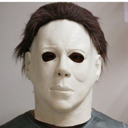 US $13.99 49% OFF|Top Grade 100% Latex Horror Movie Halloween Michael Myers Mask Adult Party Masquerade Cosplay Latex Myers Masks Full Head Mask-in Party Masks from Home & Garden on Aliexpress.com | Alibaba Group