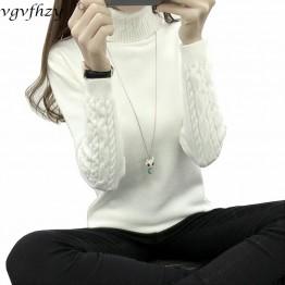728.71 руб. 36% СКИДКА|Женский зимний свитер с высоким воротом женский 2019 длинный рукав вязаный женский свитер и пуловеры женский джемпер трико топы LY571-in Пуловеры from Женская одежда on Aliexpress.com | Alibaba Group