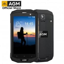 """10856.86 руб.  Официальный AGM A8 5 """"4G FDD LTE Android 7,1 мобильный телефон Dual SIM IP68 прочный телефон 4 ядра 13.0MP 4050 мАч Новый NFC OTG Смартфон купить на AliExpress"""