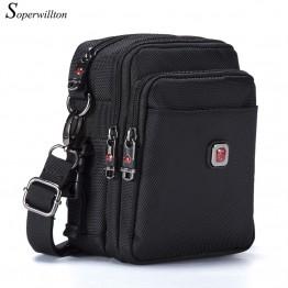 599.2 руб. 58% СКИДКА|Soperwillton сумка мужская бренд Для мужчин мешок Курьерские сумки водонепроницаемый Высокое качество Оксфорд 1680D молнии Сумка сумка мужская через плечо #1052 on Aliexpress.com | Alibaba Group